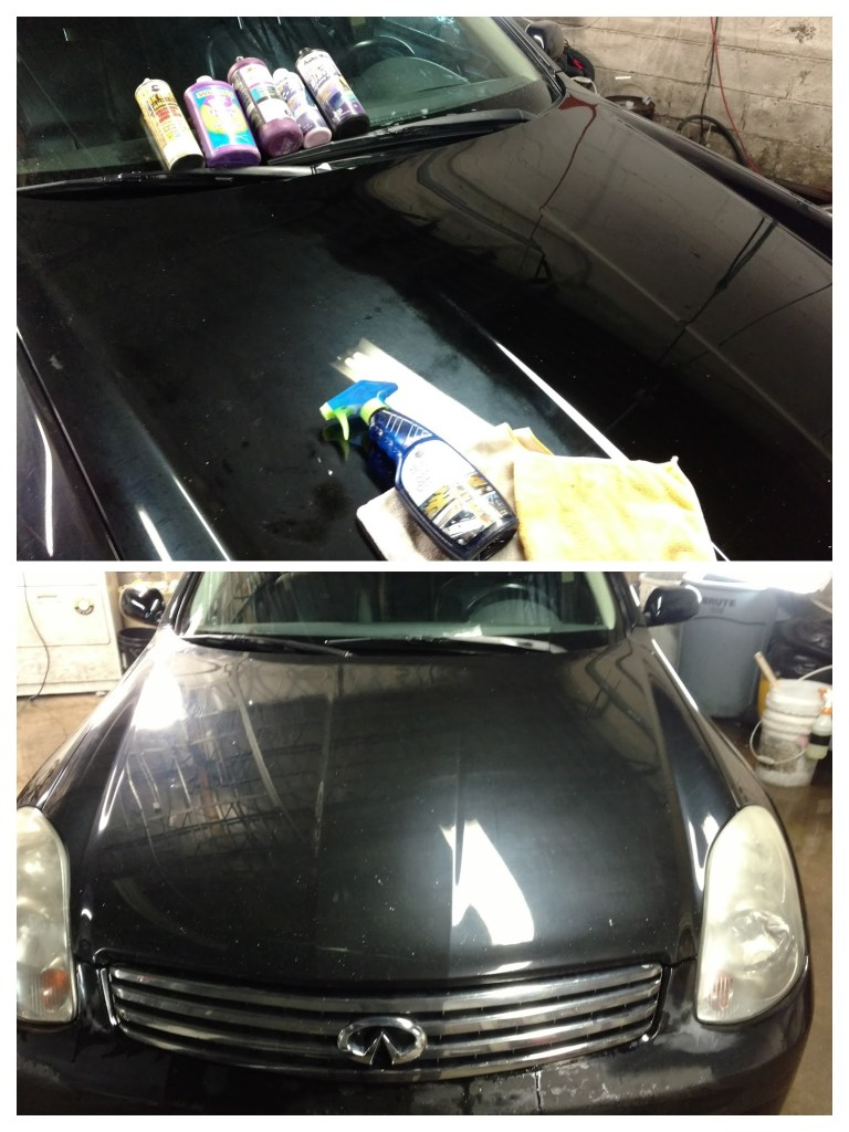 Black Car Oxidation Removal
